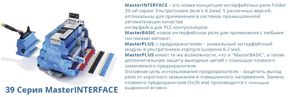 39 Серия MasterINTERFACE