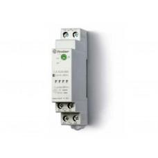 Фотореле модульное с фотоэлементом 011.02; монтаж на рейку 35мм; 1NO 16A; питание 24В АC/DC; настройка чувствит. 1…100люкс; ширина 17.5мм; степень защиты: фотореле IP20, фотоэлемент IP54; упаковка 5 шт.