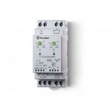 Фотореле модульное с фотоэлементом 011.02; монтаж на рейку 35мм; 1CO+1NO 12A (2 канала); питание 230В АC; настройка чувствит. 1…80люкс, 20…1000люкс; ширина 35мм; степень защиты: фотореле IP20, фотоэлемент IP54; упаковка 5 шт.