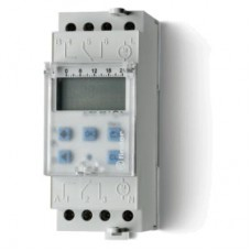 122200240000, Реле времени цифровое недельное; монтаж на рейку 35мм; 2СO 16A; питание 24В АC/DC; ширина 35.8мм; степень защиты IP20; упаковка 5 шт.
