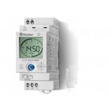125182300000, Реле времени цифровое суточное/недельное; монтаж на рейку 35мм; 1СO 16A; питание 110…230B AC/DC; ширина 35мм; степень защиты IP20; упаковка 5 шт.