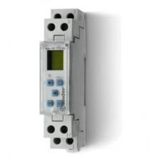 127182300000, Реле времени цифровое недельное; программируется ПК (012.00); монтаж на рейку 35мм; 1СO 16A; питание 230В АC; ширина 17.8мм; степень защиты IP20; упаковка 5 шт.
