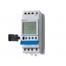 129182300090, Реле времени цифровое ASTRO; программируется ПК (012.90); монтаж на рейку 35мм; 1СO 16A; питание 230В АC; ширина 35.8мм; степень защиты IP20; упаковка 5 шт.