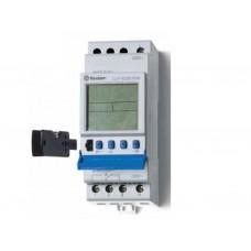 129282300000, Реле времени цифровое ASTRO; монтаж на рейку 35мм; 2СO 16A; питание 230В АC; ширина 35.8мм; степень защиты IP20; упаковка 5 шт.