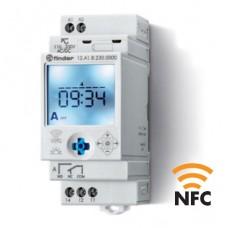 12A182300000, Реле времени цифровое недельное ASTRO; монтаж на рейку 35мм; 1СO 16A; питание 110…230B AC/DC; NFC; ширина 35мм; степень защиты IP20; упаковка 5 шт.