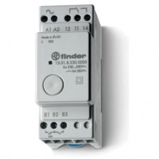 130100120000, Модульное электронные шаговое/моностабильное реле; 1NO 16A; питание 12В АC/DC; ширина 35мм; степень защиты IP20; упаковка 5 шт.