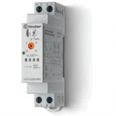 140182300000, Модульный электронный лестничный таймер мультифункциональный; 1NO 16A; 3- или 4-проводная схема; питание 230В АC; ширина 17.5мм; степень защиты IP20; упаковка 5 шт.