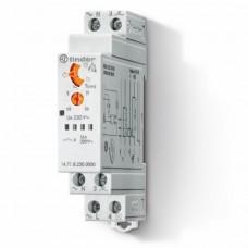 147182300000, Модульный электронный лестничный таймер 1-функциональный; 1NO 16A; 3- или 4-проводная схема; питание 230В АC; ширина 17.5мм; степень защиты IP20; упаковка 5 шт.