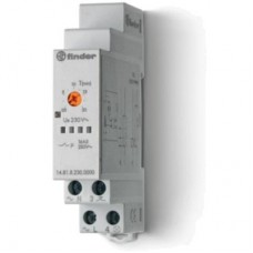 Модульный электронный лестничный таймер 1-функциональный; 1NO 16A; 3-проводная схема; питание 230В АC; ширина 17.5мм; степень защиты IP20; упаковка 5 шт.