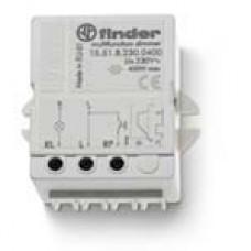 155182300460, Электронный диммер; 400Вт; ступенчатое диммирование; питание 230В АC (60Гц); монтаж в коробке; степень защиты IP20; упаковка 5 шт.