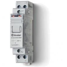 202280480000, Модульное электромеханическое шаговое реле; 2NO 16А, 2 состояния; контакты AgNi; питание 48В АC; ширина 17.5мм; степень защиты IP20; упаковка 5 шт.