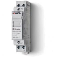 202682304000, Модульное электромеханическое шаговое реле; 2NO 16А, 3 состояния; контакты AgSnO2; питание 230В AC; ширина 17.5мм; степень защиты IP20; упаковка 5 шт.