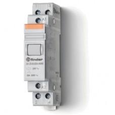 222380244000, Модульный контактор; 1NO+1NC 20А; контакты AgSnO2; катушка 24В АС; ширина 17.5мм; степень защиты IP20; опции: нет; упаковка 5 шт.