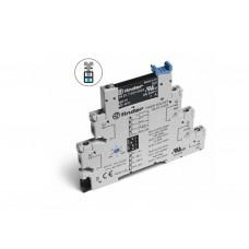 382100120060, Интерфейсный модуль, электромеханическое реле с таймером (мультифункциональные: AI,DI,GI,SW); 1CO 6A; контакты AgNi; питание 12В АС/DC; категория защиты IP20; винтовые клеммы; упаковка 10 шт.