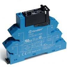 384170248240, Интерфейсный модуль, твердотельное реле; выход 3A (240В AС); питание 24В DC; категория защиты IP20; безвинтовые клеммы (пружинный зажим); упаковка 10 шт.