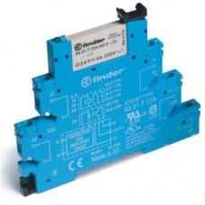 385131250060, Интерфейсный модуль, электромеханическое реле; 1CO 6A; контакты AgNi; питание 125В AC/DC; подавление утечки тока; категория защиты IP20; винтовые клеммы; упаковка 10 шт.