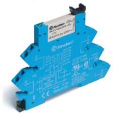 386100240060, Интерфейсный модуль, электромеханическое реле; 1CO 6A; контакты AgNi; питание 24В AC/DC; категория защиты IP20; безвинтовые клеммы (пружинный зажим); упаковка 10 шт.