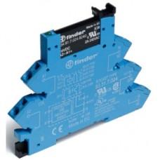 389170247048, Интерфейсный модуль, твердотельное реле; выход 0,1A (48В DC); питание 24В DC; категория защиты IP20; безвинтовые клеммы (пружинный зажим); упаковка 10 шт.