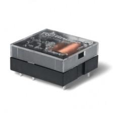 401170062000, Миниатюрное универсальное электромеханическое реле; монтаж на печатную плату; плоские; выводы с шагом 3.5мм; 1CO 10A; контакты AgCdO; катушка 6В DC (чувствит.); степень защиты RTI; упаковка 50 шт.