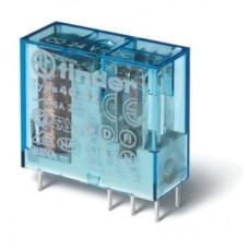 Миниатюрное универсальное электромеханическое реле; монтаж на печатную плату или в розетку; выводы с шагом 5мм; 2CO 8A; контакты AgNi+Au; катушка 60В DC; степень защиты RTII; упаковка 50 шт.