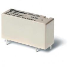 434170032000, Низкопрофильное миниатюрное электромеханическое реле; монтаж на печатную плату; выводы с шагом 3.2мм; 1CO 10A; контакты AgCdO; катушка 3В DС (чувствит.); степень защиты RTII; упаковка 20 шт.