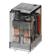 Миниатюрное универсальное электромеханическое реле; монтаж на печатную плату; 2CO 10A; контакты AgNi; катушка 6В АC; степень защиты RTI; опции: нет; упаковка 10 шт.