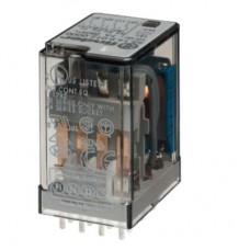 Миниатюрное универсальное электромеханическое реле; монтаж на печатную плату; 4CO 7A; контакты AgNi; катушка 48В DC; степень защиты RTI; опции: нет; упаковка 10 шт.