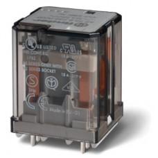 Силовое электромеханическое реле; монтаж на печатную плату; 2NO 16A; контакты AgCdO (зазор ? 3мм); катушка 24В DC; степень защиты RTI; опции: нет; упаковка 10 шт.