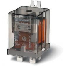 Силовое электромеханическое реле; монтаж в наконечники Faston 250 (6.3x0.8мм); 1NO+1NC 20A; контакты AgCdO; катушка 24В DC; степень защиты RTI; без монтажного фланца; опции: нет; упаковка 10 шт.