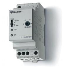 Контрольное реле для 1-фазных сетей; пониженное/повышенное напряжение; фиксированные регулировки; выход 1CO 10А; модульное, ширина 35мм; степень защиты IP20; упаковка 5 шт.