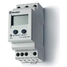 Универсальное контрольное реле напряжения для 1-фазных сетей AC/DC; пониженное/повышенное напряжение; настраиваемые параметры; память отказов; выход 1CO 10А; модульное, ширина 35мм; степень защиты IP20; упаковка 5 шт.