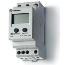 Универсальное контрольное реле тока для 1-фазных сетей AC/DC; пониженый/повышенный ток; прямое подключение или через трансформатор тока; настраиваемые параметры; память отказов; выход 1CO 10А; модульное, ширина 35мм; степень защиты IP20; упаковка 5 шт.