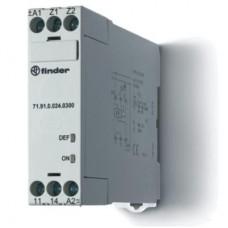 Термисторное реле (PTC); без памяти отказов; питание 24В АС/DC; выход 1NO 10A; ширина 22.5мм; степень защиты IP20; упаковка 5 шт.