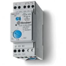 720190240000, Реле контроля уровня; настраиваемый диапазон чувствительности 5…150кОм; питание 24В DC; выход 1CO 16А; модульное, ширина 35мм; степень защиты IP20; упаковка 5 шт.
