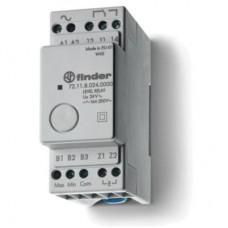 721182400000, Реле контроля уровня; фиксированный диапазон чувствительности 150кОм; питание 240В AC; выход 1CO 16А; модульное, ширина 35мм; степень защиты IP20; упаковка 5 шт.