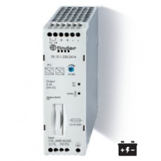 Импульсный источник питания; вход 110...250В AC/DC; выход 24В DC, 130Вт; Компенсация реактивной мощности; ширина 30мм; степень защиты IP20; упаковка 5 шт.