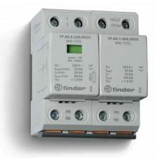 Устройство защиты от импульсных перенапряжений УЗИП тип 1+2 (1 варистор/искровый разрядник + 1 искровый разрядник); модульный, ширина 72мм; степень защиты IP20; упаковка 1 шт.