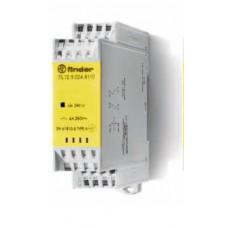 7S1290245110, Модульное электромеханическое реле безопасности (реле с принудительным управлением контактами); 1NO+1NC 6A; контакты AgNi+Au; катушка 24В DC; ширина 22.5мм; степень защиты IP54; упаковка 5 шт.