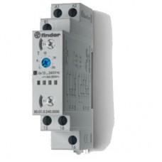 800102400000, Модульный таймер мультифункциональный (AI, DI, SW, BE, CE, DE); питание 12…240В АС/DC; 1CO 16A; ширина 17.5мм; регулировка времени 0.1с…24ч; степень защиты IP20; упаковка 5 шт.