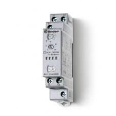 805102400000, Модульный таймер мультифункциональный (AI, DI, SW, BE, CE, DE); питание 24…240В АС/DC; 1CO 8A; ширина 17.5мм; регулировка времени 0.1с…24ч; степень защиты IP20; упаковка 5 шт.