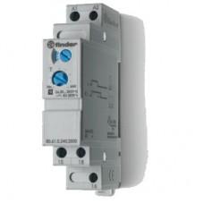 806102400000T, Модульный таймер 1-функциональный (ВI); питание 24…240В АС/DC; 1CO 8A; ширина 17.5мм; регулировка времени 0.05с…180c; степень защиты IP20; версия для ЖД-транспорта; упаковка 5 шт.