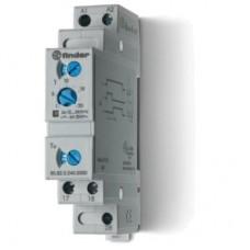 808202400000PAS, Модульный таймер 1-функциональный (SD); питание 24…240В АС/DC; 2NO 6A; ширина 17.5мм; регулировка времени 0.1с…20мин; степень защиты IP20; упаковка 1шт. ; упаковка 1 шт.