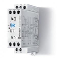 Модульный таймер мультифункциональный (AE, EEa, FE, GE, IT, BEp, DEp, SHp); питание 24…240В АС/DC; 2CO 12A; ширина 22.5мм; регулировка времени 0.05с…10дней; степень защиты IP20; упаковка 5 шт.