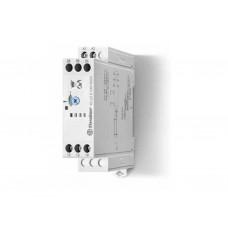 Модульный таймер 1-функциональный (BI); питание 24…240В АС/DC; 2CO 8A; ширина 22.5мм; регулировка времени 0.05с…180c; степень защиты IP20; упаковка 5 шт.