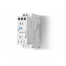Модульный таймер 1-функциональный (SD); питание 24…240В АС/DC; 2NO 16A; ширина 22.5мм; регулировка времени 0.05с…10дней; степень защиты IP20; упаковка 1шт.