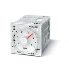 880202300002, Таймер мультифункциональный (AI, DI, GI, SW, BE, CE, DE), функции SET, RESET; монтаж на панель или в розетку; 11-штырьковый разъем; питание 24…230В АС/DC; 2CO 8A; регулировка времени 0.05с…100ч; степень защиты IP40; упаковка 5 шт.