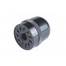 90134, Штепсельный разъем 11-штырьков для реле 60.13, таймера 88.22; под пайку; задняя крышка; упаковка 50 шт.