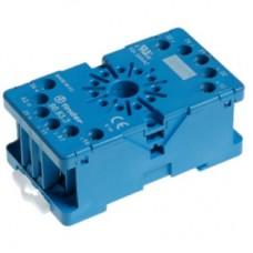 Розетка для реле 60.12; таймера 88.12; Varitec; версия: синий цвет; 90823