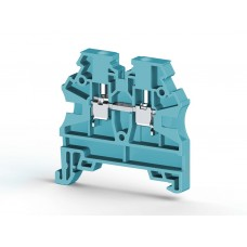 AVK2,5 RD; Клеммник на DIN-рейку 2,5мм.кв. (синий). (упак. 100 шт.); 304201
