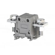 304300, Силовой клеммник на DIN-рейку 95 мм.кв., болт., (серый); AVK95 B (упак 4 шт)